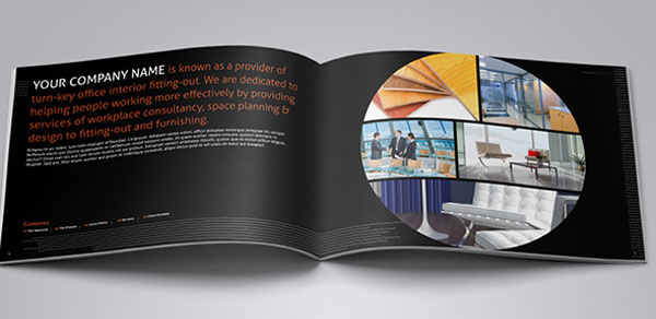 Interior Design Brochure Template 3