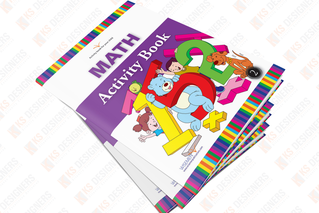 Kids Maths Book Cover : Book design portfolio children magazine